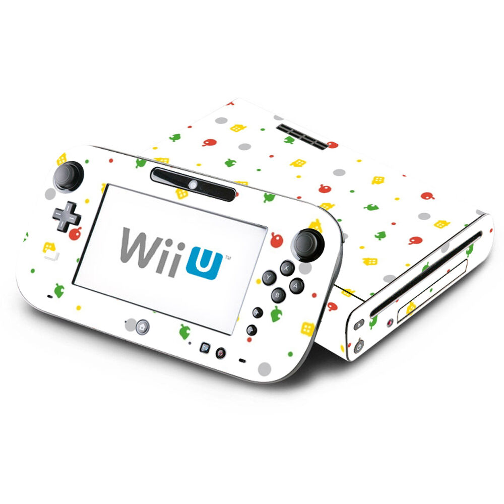 Skin Decal Cover for Nintendo Wii U Console & GamePad