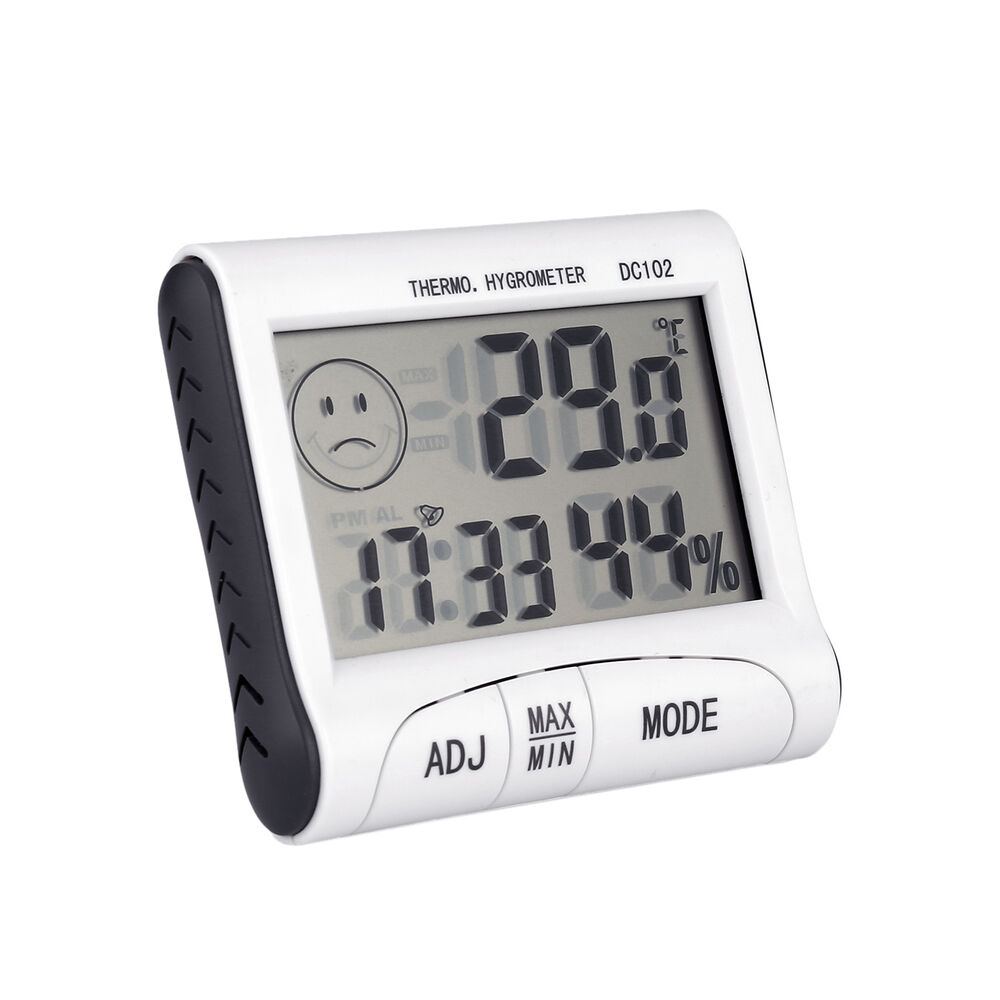 Mini Digital Thermometer Humidity Meter Room Temperature