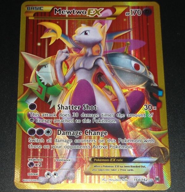 Mewtwo 164 162 Xy Breakthrough Mint Secret Rare