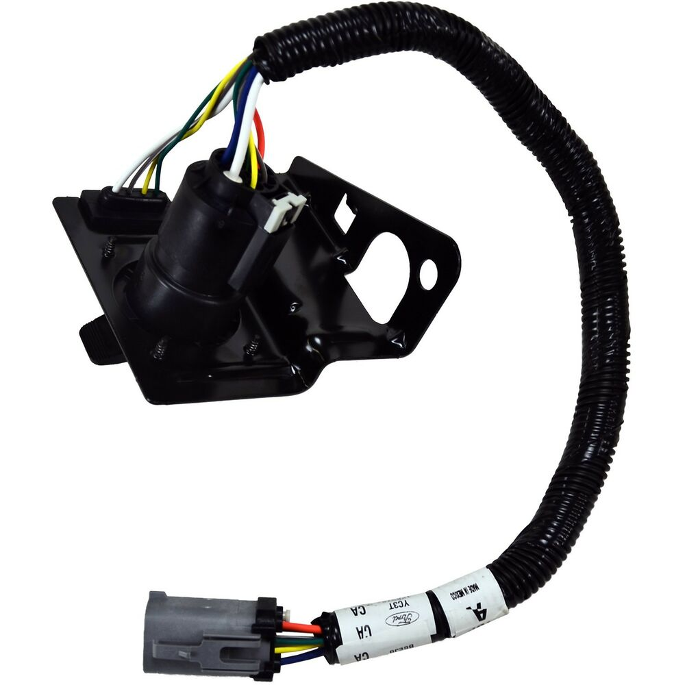 hight resolution of details about oem new 1999 2001 ford super duty trailer tow brake wire harness hitch connector