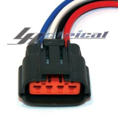 details about alternator repair plug harness 4 wire pin pigtail connector for kia sedona 3 5l [ 1000 x 1000 Pixel ]