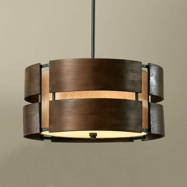 Chandelier Drum Shade Pendant Light