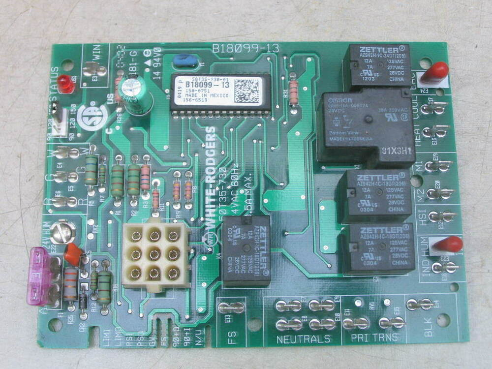 Wiring Diagram On White Rodgers Furnace Control Board Wiring Diagram