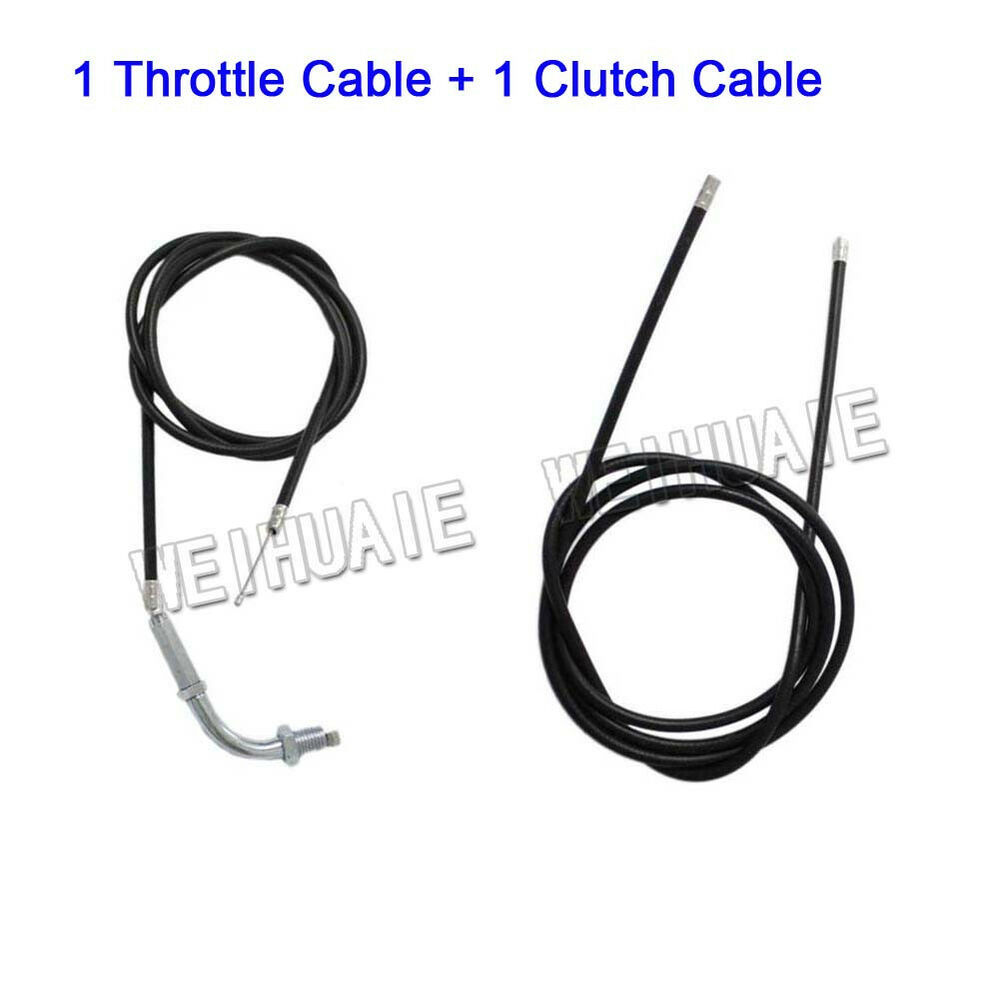 Throttle Cable & Clutch Cable F 2 Stroke 49cc 60cc 66cc