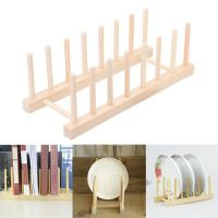 Wooden Drainer Plate Dish Rack Holder Stand Plates Drying ...