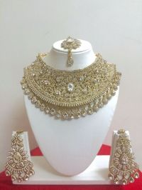 Indian Bollywood Style Fashion Gold Plated Bridal Jewelry ...