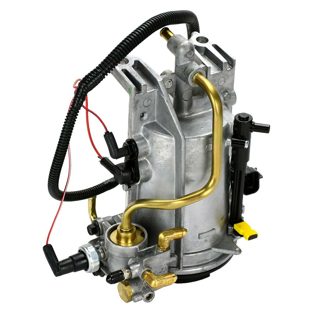 hight resolution of details about new oem 1996 1997 ford super duty econoline 7 3l diesel fuel filter housing