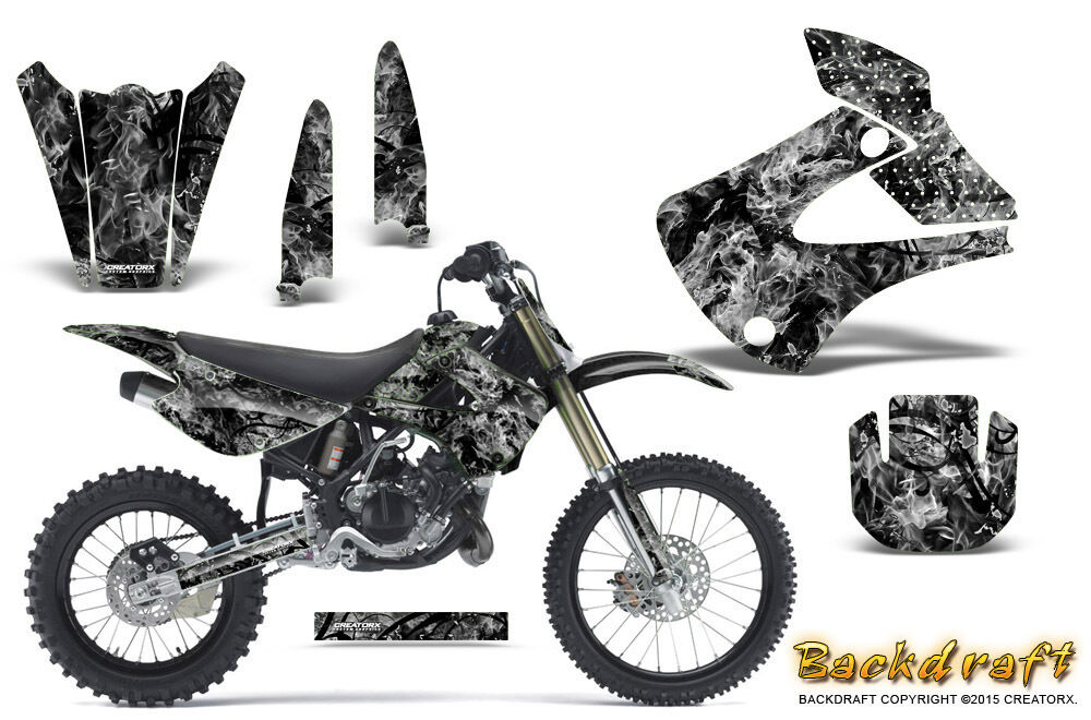 Kawasaki KX85 KX100 2001-2013 Graphics Kit CREATORX Decals