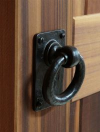 Iron Valley - 4.5'' Ring Pull - Door & Gate Handle - Solid ...