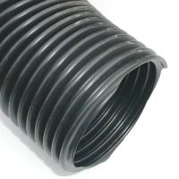 "75mm (3"") Duct Hose Black PVC Heater Vent Pipe Per metre"