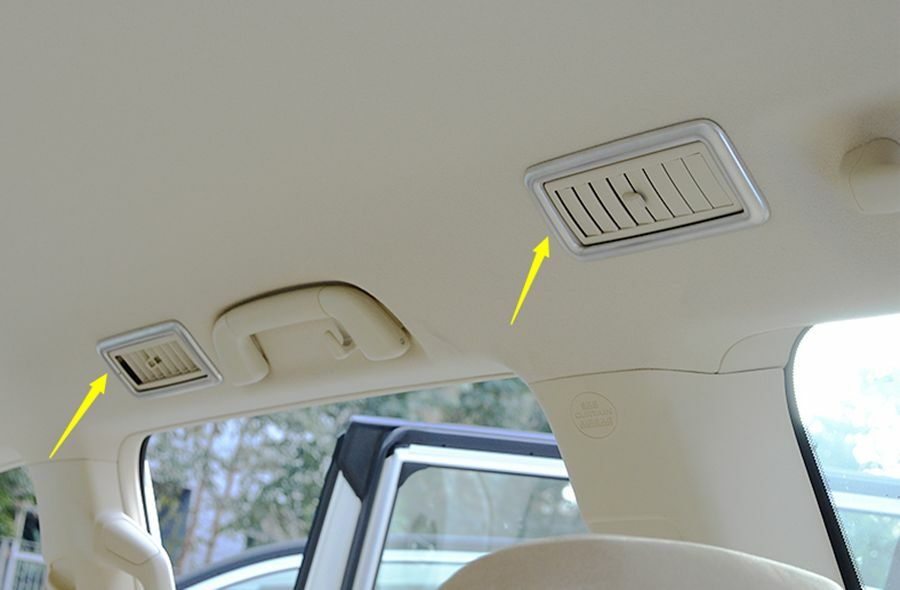 4X Interior CAR Roof Air Vent Outlet Cover Trim for Toyota