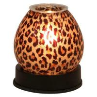 Touch Lamp Cheetah Print Glass Scented Fragrance Oil ...