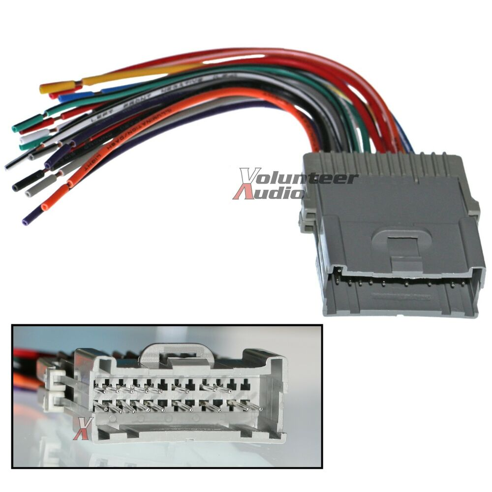 Wiring Harness Stereo Installation