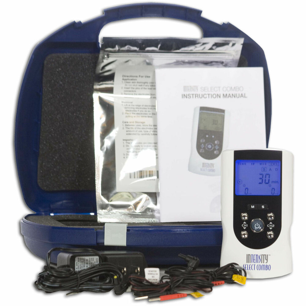 InTENSity Select Combo TENS Muscle Stimulator and IF ...