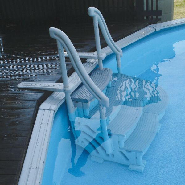 Complete Curve Step System Above Ground Pools