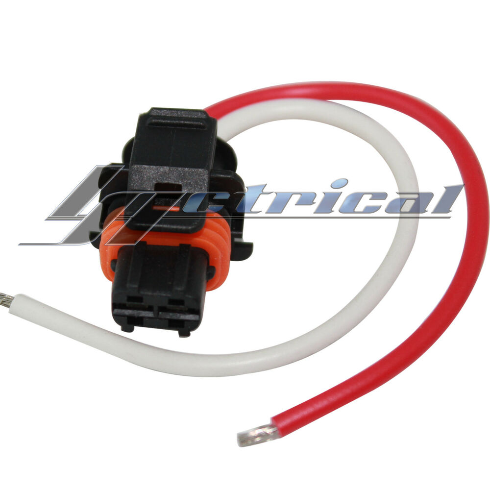 medium resolution of details about alternator repair plug 2 pin pigtail for cadillac cts dts srx sts 2 8l 3 6l 4 6l