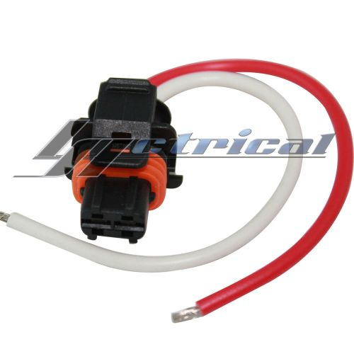 small resolution of details about alternator repair plug 2 pin pigtail for cadillac cts dts srx sts 2 8l 3 6l 4 6l