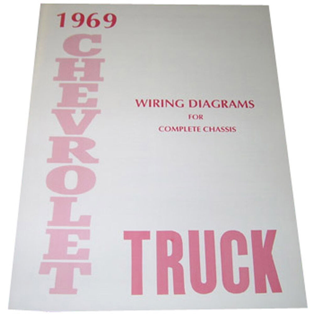 hight resolution of details about 1969 wiring diagrams booklet chevrolet pickup truck