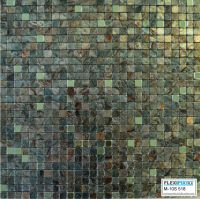 FlexiPixTile-Aluminum Peel & Stick Mosaic Tile Kitchen ...