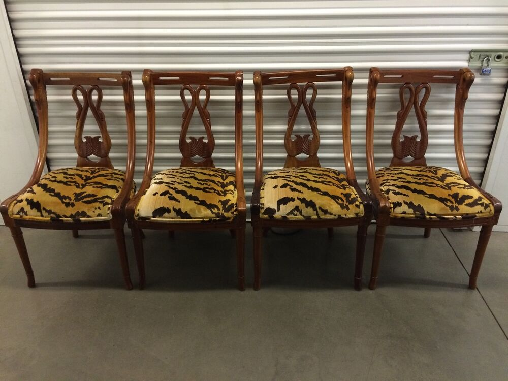 tell city chairs pattern 4526 6 chair patio set urban home designing trends of 4 1920 s carved mahogany swan dining company