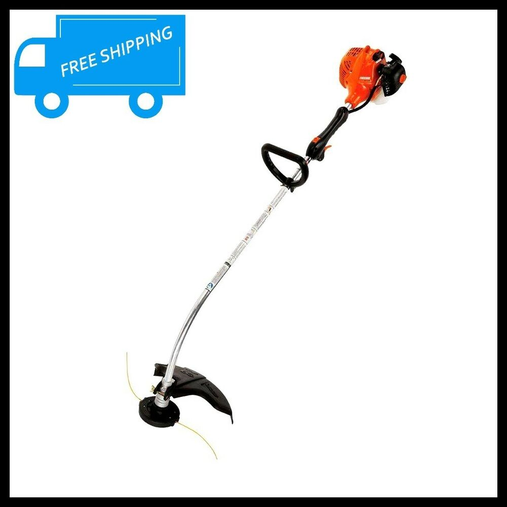 Curved Shaft Gas Trimmer Weed Eater Grass 2 Cycle 21.2 cc