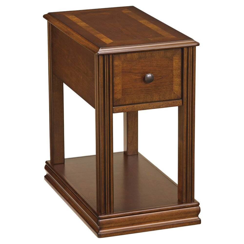 Breegin Chair Side End Table  Ashley Furniture  eBay
