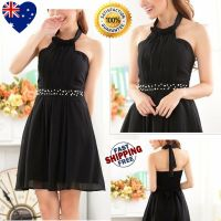 New Black Girls Party Dress Jr Bridesmaid Dress Formal ...
