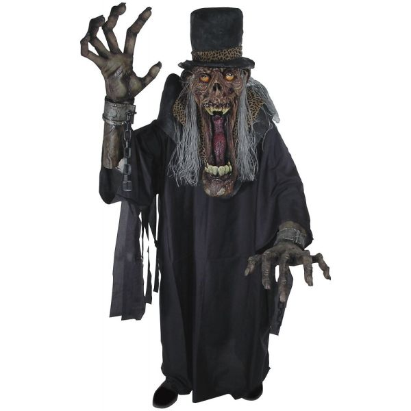 Undertaker Ghoul Creature Reacher Costume Scary Monster