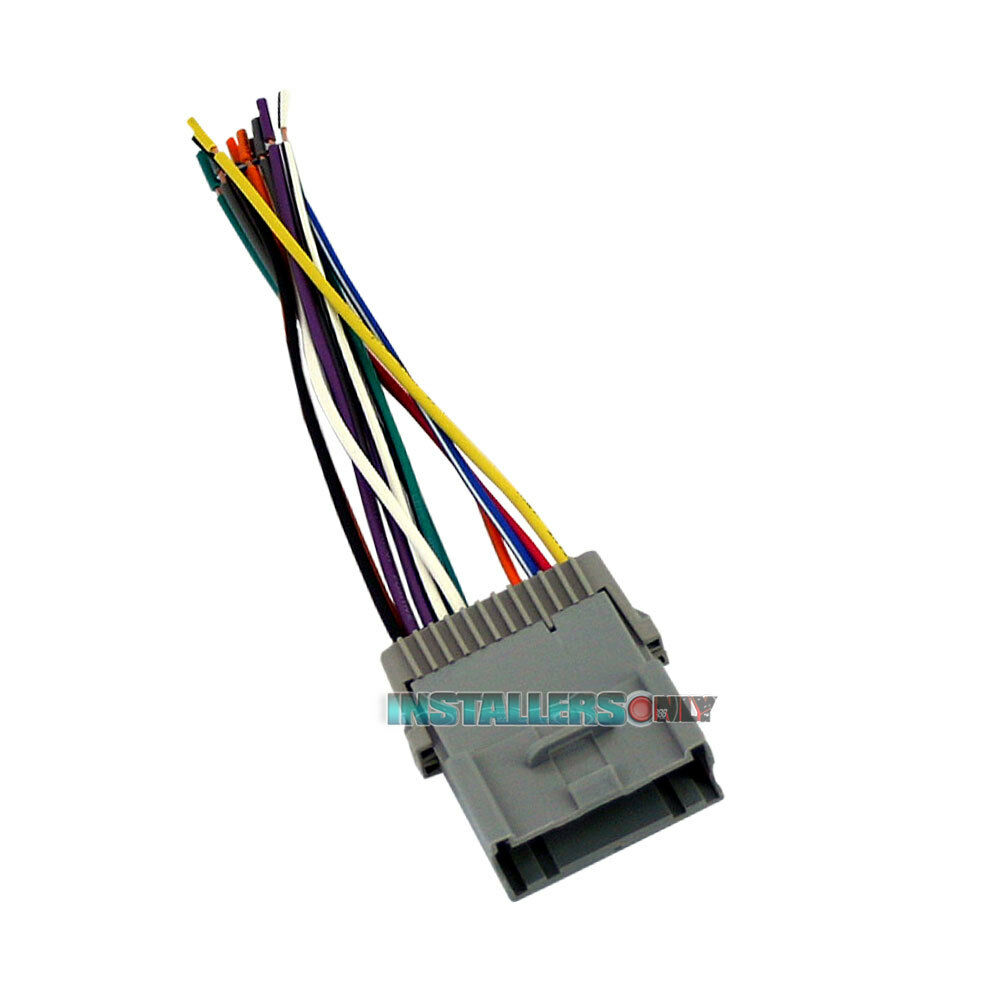 hight resolution of aftermarket car stereo wiring harness for gmc radio gm performance parts gm wiring harness 2000