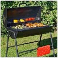 Charcoal Barbeque Smoker BBQ Grill Garden Portable Outdoor ...