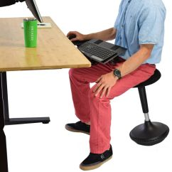 Wobble Chair Uk Hollywood Director Stool Adjustable Height Active Sitting Balance Office Stand Desk Ebay