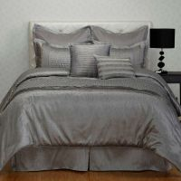 Ontario Silver 8-piece Oversize Comforter Set King Queen ...