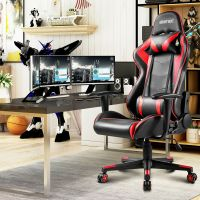 Merax PU Leather Racing Gaming Chair Race Car Seat High