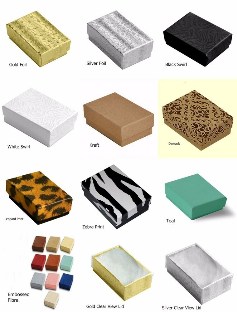 Economy Gift Boxes Wholesale Jewelry Supplies Crafts