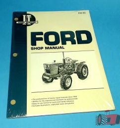 fo44 workshop manual ford 1300 1700 1900 tractor 1210 1310 1510 1710 1910 2110 24185843337 ebay [ 1000 x 1000 Pixel ]