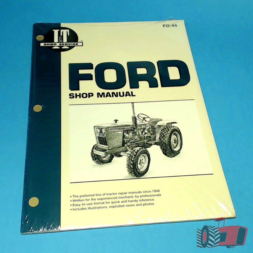 hight resolution of fo44 workshop manual ford 1300 1700 1900 tractor 1210 1310 1510 1710 1910 2110 24185843337 ebay