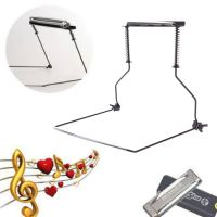 Metal Harmonica Neck Holder Mouth Organ Support Harp Rack ...