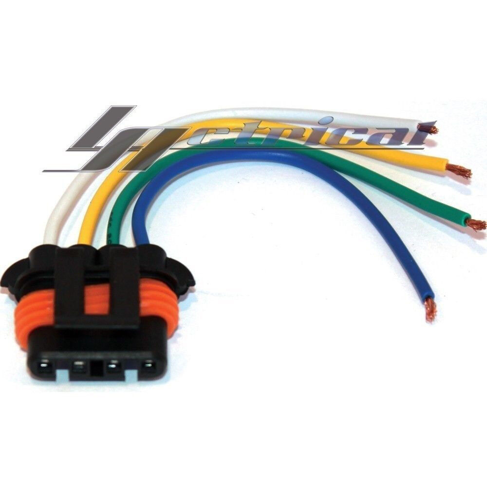 hight resolution of details about alternator repair plug harness pigtail connector for chevy gmc truck pu cadillac