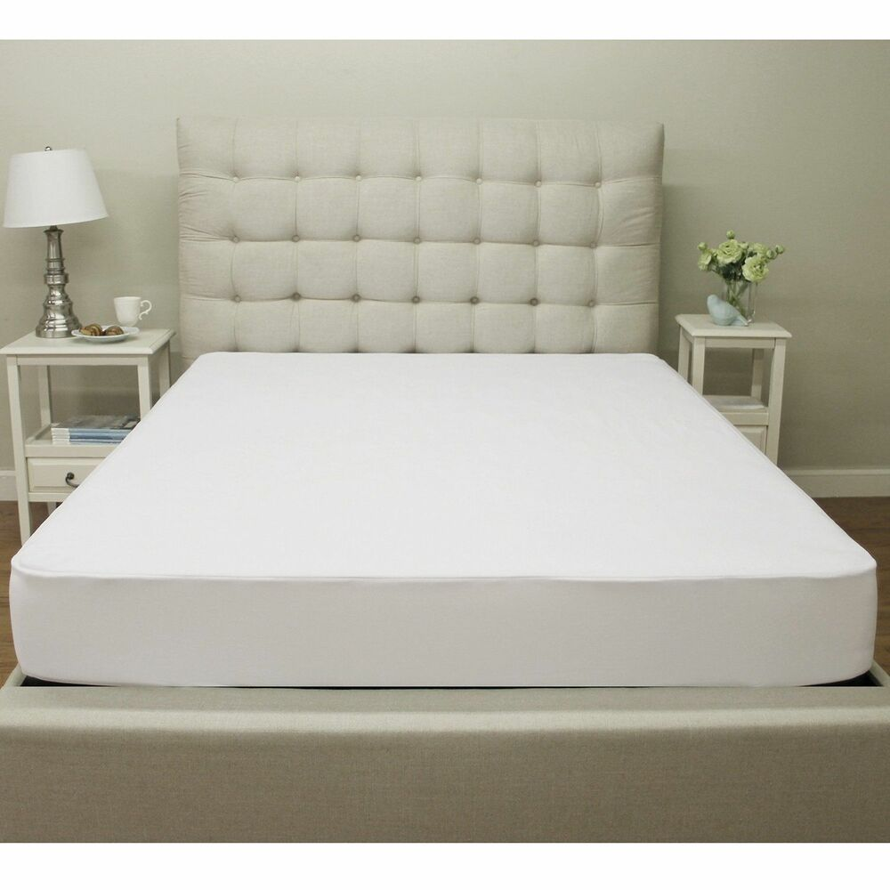 CalKing Size Waterproof Mattress Protector Bed Topper
