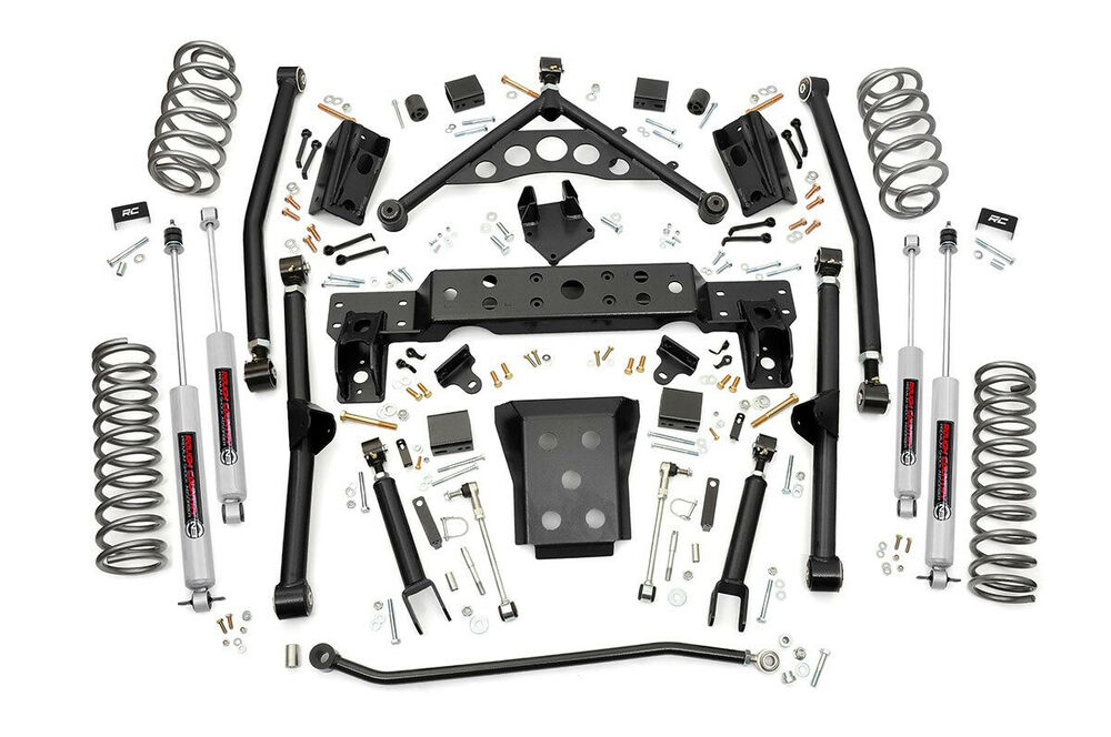 "Jeep Grand Cherokee WJ 4"" Long Arm Suspension Lift Kit"