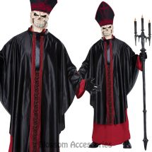 Ca111 Black Mass Zombie Priest Holy Pope Religious Horror