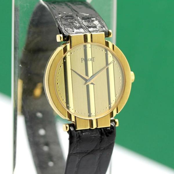 Piaget Polo 18K Yellow Gold Watch