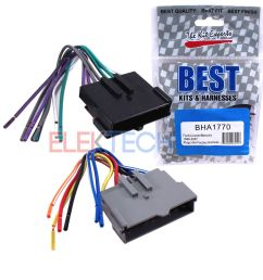 details about best kits bha1770 aftermarket radio wire harness 8 pin for ford lincoln mercury [ 1000 x 1000 Pixel ]