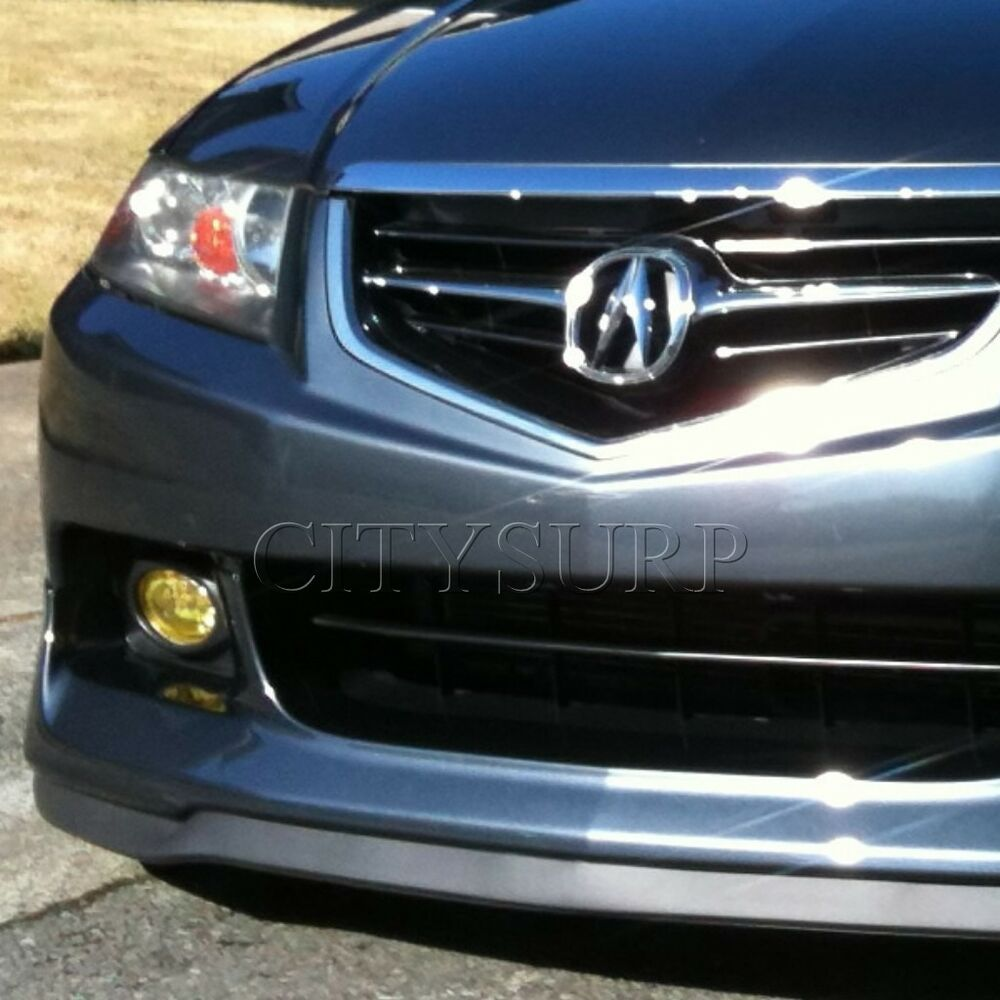 medium resolution of details about universal front bumper lip chin spoiler body kit for honda acura civic accord