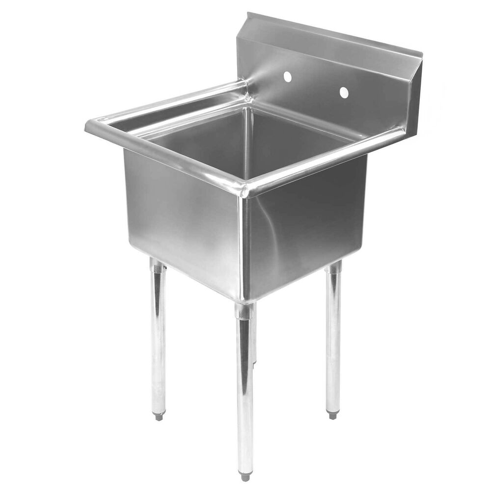 commercial kitchen sink remodel cheap stainless steel utility for 23 5 wide details about
