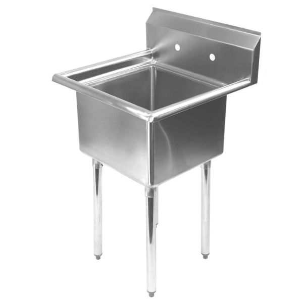 Stainless Steel Utility Sink Commercial Kitchen - 23.5