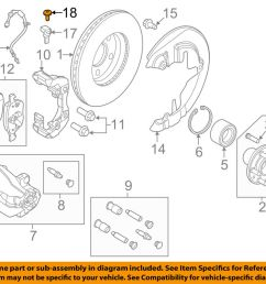 details about ford oem brake front abs sensor screw w710591s300 [ 1000 x 798 Pixel ]
