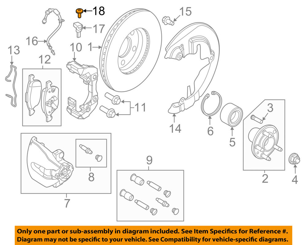 hight resolution of details about ford oem brake front abs sensor screw w710591s300