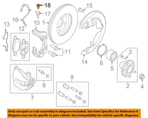 small resolution of details about ford oem brake front abs sensor screw w710591s300
