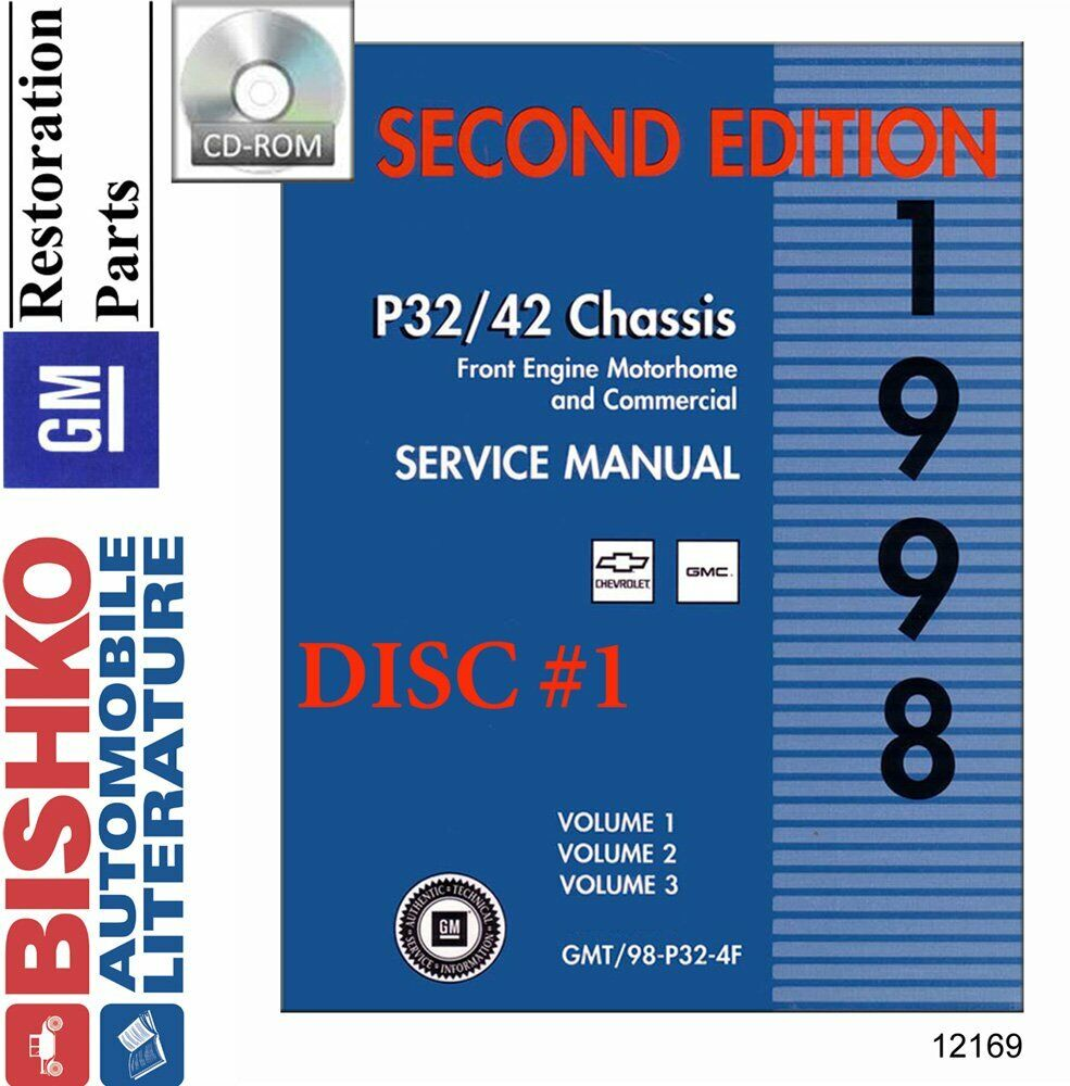 hight resolution of details about oem digital repair maintenance shop manual cd chevy truck gmc p chassis 1998